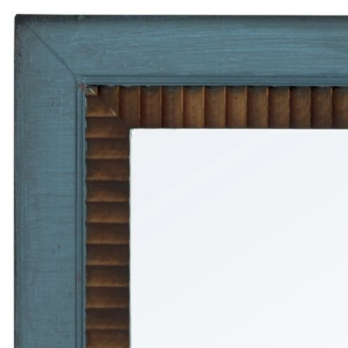 Casa Florentina Salvatore Mirror Two-Tone - Antique Walnut