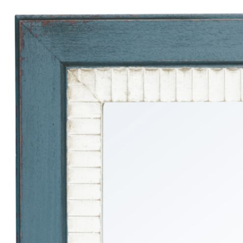 Casa Florentina Salvatore Mirror Two-Tone - Distressed Off-White