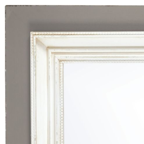 Casa Florentina San Giorgio Mirror Two-Tone - Distressed