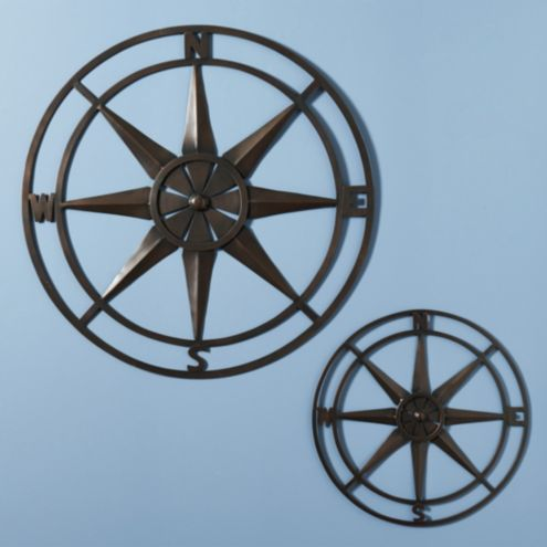 Compass Rose Indoor/Outdoor Plaque