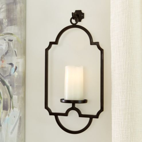 Janie Candle Sconce