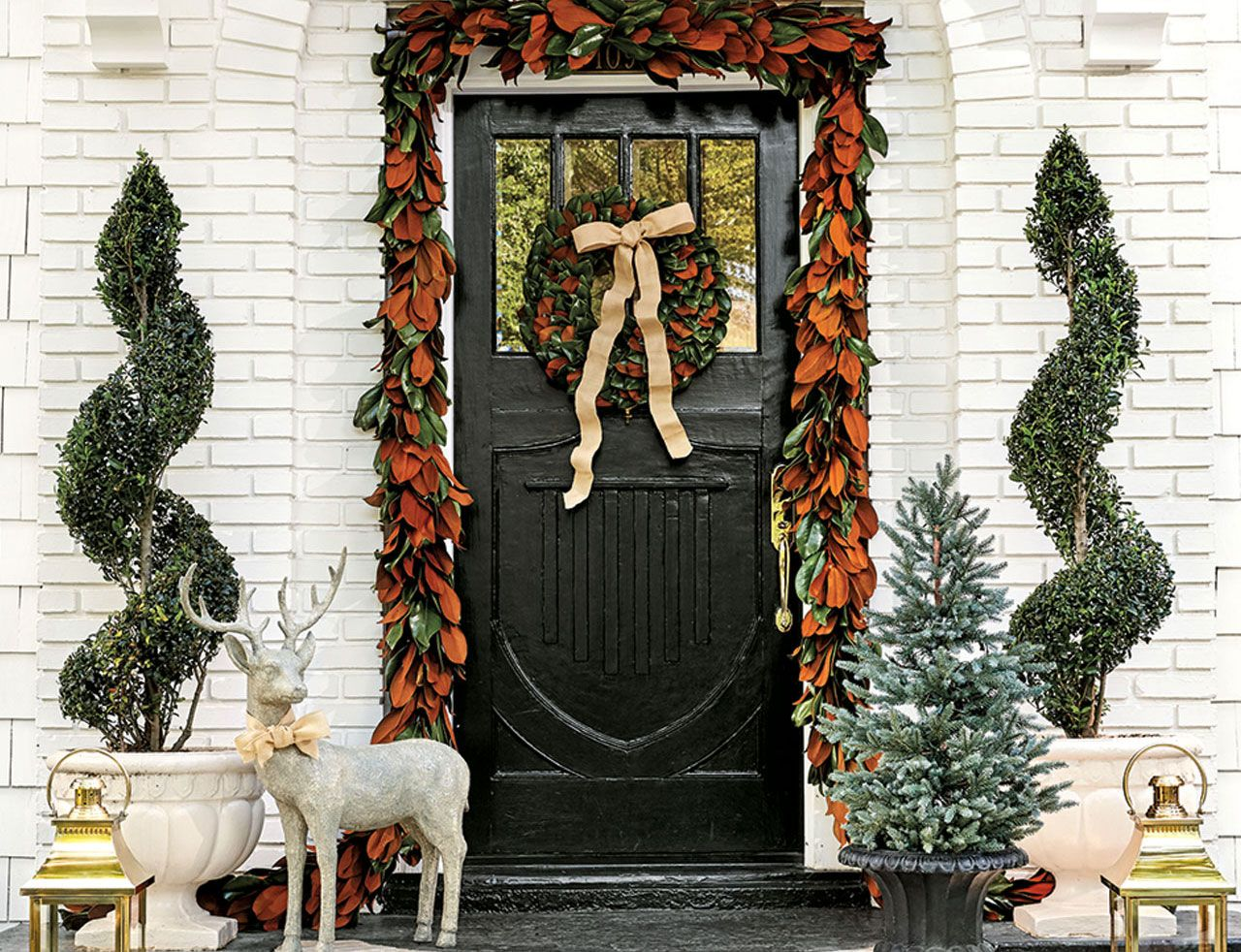 10 holiday front doors to inspire ballard designs 10 holiday front doors to inspire rubansaba